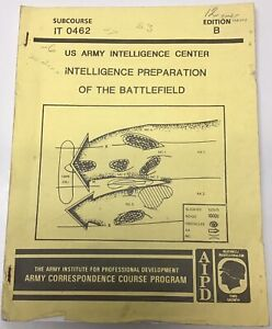 Army Intelligence Center & School: Intelligence Officer Responsibility IT0423