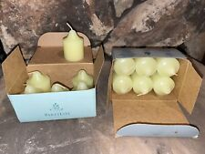 12 PartyLite Lemongrass Votive Candles Vo691 Party Light Green 2 - 6 count boxes