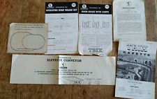 More details for collection of trix railway ephemera paperwork