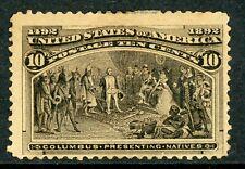 USA 1893 Columbian 10¢ Scott # 237 Mint B463 ⭐⭐⭐⭐⭐⭐