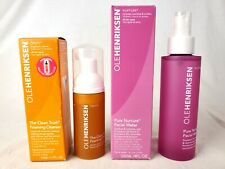 NEW Ole Henriksen Pure Nature Facial Water 4oz & Truth Foaming Cleanser 1.7oz