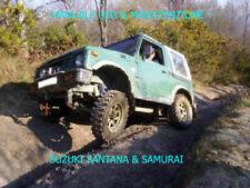 SUZUKI- Sj 410 413 SAMURAI/SANTANA - MANUALE D'OFFICINA ITALIANO