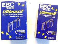 NUOVO Originale EBC ANTERIORI + POSTERIORI PASTIGLIE FRENO RENAULT MEGANE MK3 COUPE 2.0 Turbo 2013 -