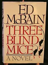 Three Blind Mice by Ed McBain, First Edition, Signed