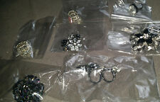 Rings Costume Jewelry 7 Pc Jewelry Lot Stretchy or Slipon, New Stylish Free Ship