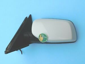 ✅ BMW 2007-2010 E60 E61 LEFT DRIVER SIDE DOOR AUTO FOLD DIM HEATED MIRROR WHITE