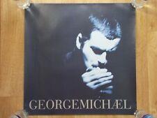 "GEORGE MICHAEL - Older UK 1996 official Virgin 20"" x 20"" promo poster"
