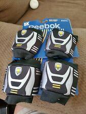 Reebok Lacrosse 5K Youth Lacrosse Padded Wrist Guards. (2 Pairs)