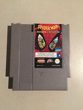 SPIDERMAN RETURN OF THE SINISTER SIX - NES CARTRIDGE