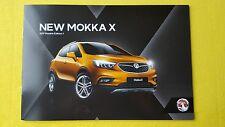 Vauxhall Mokka X Active Elite Design car catalogue brochure September 2016 MINT