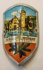 Schloss Mespelbrunn, Germany Stocknagel, Hiking Medallion, Shield, Badge GP6-15
