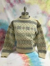 WOMENS SKI SWEATER 80's vintage