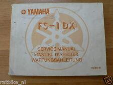 YAMAHA FS-1 (DX) SERVICE MANUAL,WARTUNGSANLEITUNG DEC. 1976 PH067