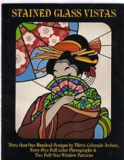 *Stained Glass Vistas* by Barbara McKee (1979/Sc/100+ Designs)