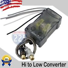 Adjustable High to Low Compact Line Output Out Converter with Loc Gain Control