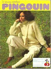 RARE catalogue de tricot PINGOUIN n° 8 - 40 modèles hiver - Femme/Homme/Enfant