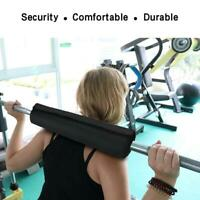 Dumbbell Pad Squat Bar Supports Weightlifting Pull Up Neck Shoulder Protect