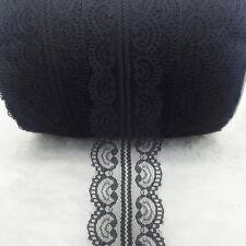 Beautiful~ 10 Yard Handicrafts Embroidered Net Lace Trim Ribbon Bridal Crafts