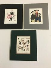 3 Amish Prints By Xtian Newswanger Matted Only