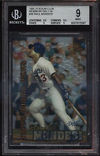1995 Stadium Club Members Only Raul Mondesi Rookie RC Mint BGS 9 Sub 9.5 Dodgers