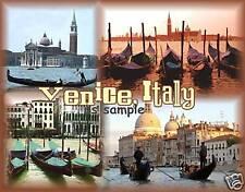 Italy - VENICE gondolas - Travel Souvenir Fridge Magnet
