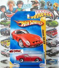Hot Wheels 2009 #005 Ferrari 250 GTO RED,1ST COLOR,WSP,BLACK BASE,INTL,NICE!