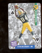 1994 Ditka's Picks STERLING SHARPE Green Bay Packers Playing Card Mint