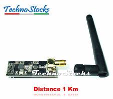 NRF24L01 + PA + LNA + Antenna 1100m Modulo Radio Wireless 2.4GHz Distance 1km