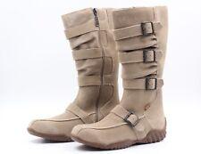 HIS Winterstiefel Gr. 37 Beige Warm Gefüttert Kunstleder Stiefel Boots NEU