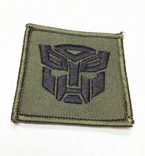 """Military Morale Patch Autobot Transformers 2.25""""  Hook&Loop #32933"""