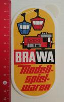 Aufkleber/Sticker: BRAWA Modellspielwaren (120517123)