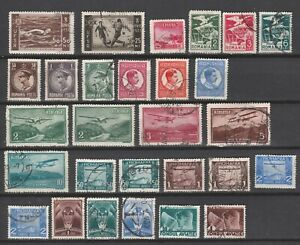 ROMANIA  From 1931  very fine lot stamps also AVIATION, POSTAL...  Used