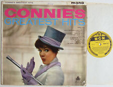 """Connie Francis Connie's Greatest Hits (7181) 12"""" LP 1960 MGM Records MGM-C-831"""