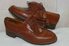 Hermes (John Lobb) New Vtg Brown Leat