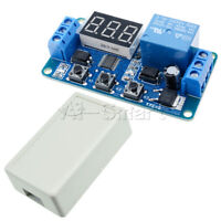 Digital 12V LED Display Home Automation Delay Timer Control Switch Relay Module