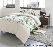 Linge de lit et ensembles verts coton mélangé à motif Floral