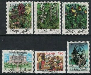 1989 Aland Islands complete year set fine used.