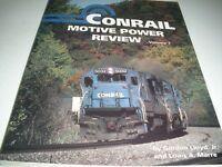Conrail Motive Power Review Volume I 1rst Ed. paperback 1992 136 pgs 1976-1986