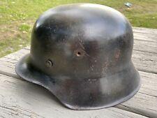 Original Ww2 M42 German Luftwaffe Helmet with liner in good condition