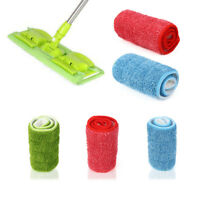 Practical Household Dust Cleaning Reusable Microfiber Pad For Spray Mop XI