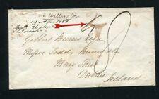 NEW ZEALAND OTAGO 1851 RARE MANUSCRIPT DUBLIN IRELAND
