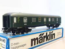 Märklin H0 4026 D-Zug Gepäckwagen Pw4ym DB OVP (Z2579)