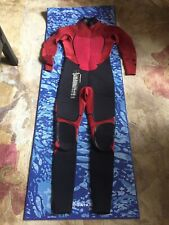 Billabong Mens Full Wetsuit with Head and Foot Gear Size Large