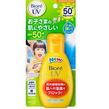 Kao Japan Biore UV Sunscreen Milk for Kids (90g/3oz.) SPF50+PA++++ Waterproof