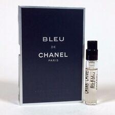CHANEL Bleu Eau De Toilette Men Mini Travel Size 2ml/0.06 oz Vial NEW on Card