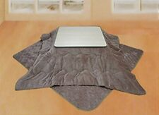 NEW! Flannel kotatsu comforter NSKF-185 square 185 × 185 cm Brown from Japan F/S