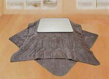 NEW! Flannel kotatsu comforter NSKF-185 square 185 × 185 cm Brown from Japan F/S