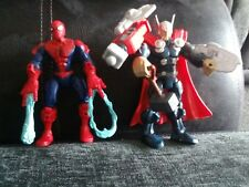 marvel thor and spiderman action figures