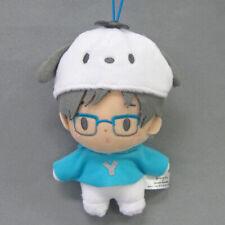Yuri on Ice X Sanrio 3'' Yuri Katsuki X Pochacco Plush Phone Strap