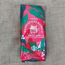 Starbucks Whole Bean Coffee Christmas Blend-Vintage 2019 Rare Aged Sumatra! 1LB